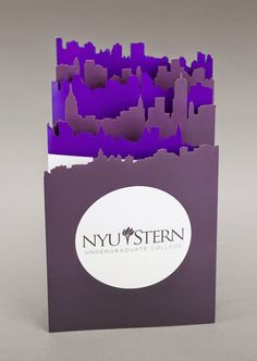 I am stern laser cut folding banner for nyu portfolio дизайн флаера, дизайн 및 флаеры. Brochure Folds, Brochure Layout, Graphic Design Brochure, Pamphlet Design, Leaflet Design, Design Poster, Print Design, Design Design, Direct Mail Design