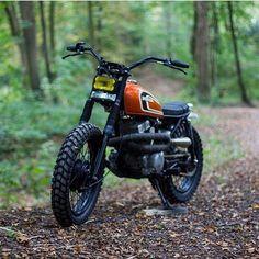 1982 Honda CM250 scrambler . . . Nice looking bike!