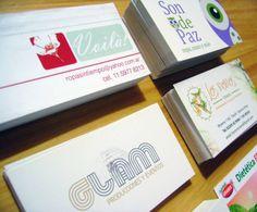 Tarjetas personales - Business cards - Tandil