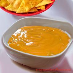 Sauce cheddar pour burgers hot-dogs ou nachos