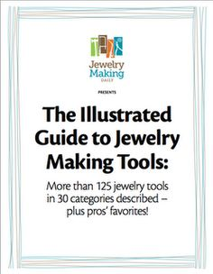 [JEWELRY TECHS] Attrezzi per iniziare - Starting Tools