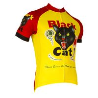 Black Cat Men's Jersey