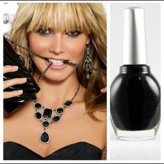 All black everything! 'Miami at Midnight' by Superstar Nail Lacquer. www.superstarnaillacquer.com