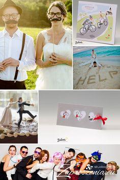 Zaproszenia ślubne na wesoło. Więcej na zaproszenia.eu