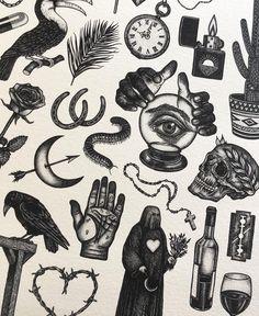 pattern tattoos meaning Bild Tattoos, Dope Tattoos, Black Ink Tattoos, Body Art Tattoos, Small Tattoos, Tattoos For Guys, Tatoos, Flash Art Tattoos, Old School Tattoo Designs