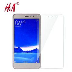 2.5D 0.28mm 9H Premium Tempered Glass for Xiaomi Redmi 2 3 Note 2 3 4 Mi3 Mi4 Mi5 Phone Screen Protector Film