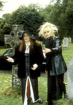 See I Told Ya He's Still Above Ground. Absolutely Fabulous, Edina Monsoon, Patsy Stone in Freaky Friday II: Freaky Funeral ; Jennifer Saunders, British Humor, British Comedy, Patsy And Eddie, Edina Monsoon, Bbc, Welsh, Patsy Stone, Joanna Lumley