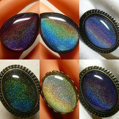 holo nail polish jewelry