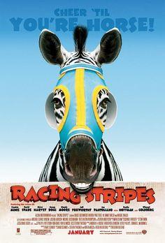 Sampiyon Zebra - Racing Stripes - 2005 - DVDRip Film Afis Movie Poster