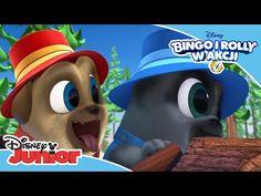Bingo i Rolly w akcji Disney Junior, Bingo, Mario, Youtube, Fictional Characters, Fantasy Characters, Youtubers, Youtube Movies