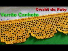 Crochet Borders, Filet Crochet, Crochet Lace, Crochet Patterns, Crochet For Beginners, Diy And Crafts, Crochet Necklace, Youtube, Blog