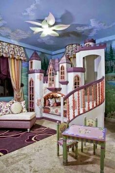 These Crazy Kids Rooms Will Make You Want To Redecorate - Cool ideas for little girls rooms