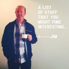 """Checkout """"The List"""", a new weekly blog post of stuff you might find interesting. Come test out the buffet tonight!   http://www.jimgrayonline.com/ideas/the-list"""