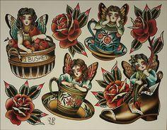 Hergestellt von Stella Luo Tätowierern in Toronto, Kanada - rose tattoos Old School Tattoo Motive, Old School Tattoo Designs, Traditional Tattoo Old School, Traditional Style Tattoo, Tattoos Skull, Gay Tattoo, Tattoo Ink, Leg Tattoos, Sleeve Tattoos