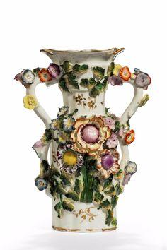 Late 19th Century Coalbrookdale Style Vase