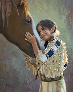 Native American fine art photography | Noles Fine Art - Karen Noles Paintings of Native American Indians. 1