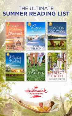 Indulge in the Ultimate Summer Reading List and read these new Hallmark movie companion novels as well as new stories only available from Hallmark Publishing. Novels To Read, Books To Read, Book Club Books, Book Lists, New Hallmark Movies, Books For Tweens, Contemporary Romance Books, Best Romance Novels, Summer Reading Lists