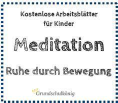 """Neu bei uns: Kostenlose Übungen mit kleinen Meditationen und für mehr """"Ruhe…"""