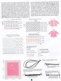 As Receitas de Crochê: CASACO E MANTA DE CROCHE COM BORDADOS