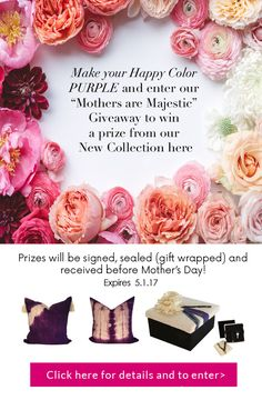GIVEAWAY: Enter to win a beautiful gift for mom - delivered before Mother's Day