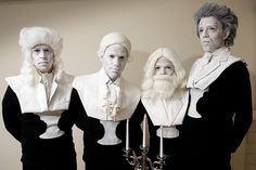 Great group costume--a set of composer busts! How fun would this been for a group of musicians? by jasonsmith, via Flickr