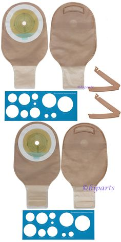 Other Mobility and Disability: Ostomy Colostomy Ileostomy Stoma Drainable Pouch Bag Cut To Fit One-Piece System -> BUY IT NOW ONLY: $31.36 on eBay!