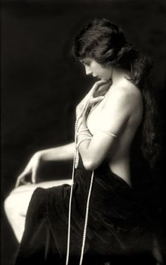 Vintage beauties from the Ziegfeld Follies