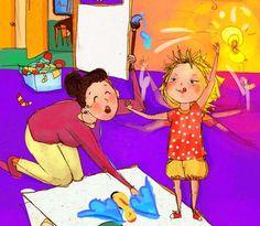 draw children illustration in my style
