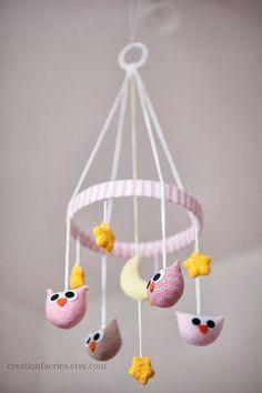 Resultado de imagem para crochet baby mobile free pattern