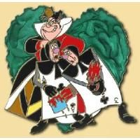 Pin 96473 WDW - 13 Reflections of Evil - Sidekicks Boxed Set - Queen of Hearts with Card Guards ONLY