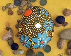 ROCK ART Hand Painted Rocks Painted Stones by etherealearthrockart