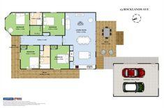 Property located at 13 Rocklands Avenue, Mt Eden, New Zealand Property For Sale, Villa, Deck, Floor Plans, Real Estate, Modern, Bedroom, Home, Trendy Tree