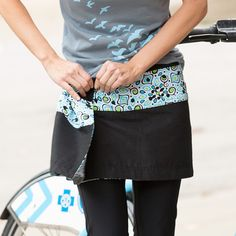 One size fits sizes 2-14. Really! Sweet Spot Women's Sweet Spot Bike Skirt | Terry Bicycles