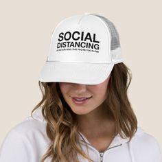 Social Distancing | If You Can Read This Trucker Hat  #goat #weddings #women baseball nursery, baseball crafts, baseball diy