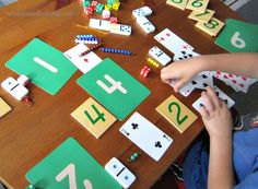 Number games are a fun way to help kindergarteners practice counting and reinforce numeral and quantity learning.