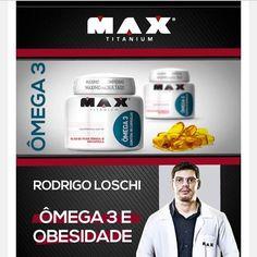 """Top !!! 20% de desconto ! Conhece os benefícios do omega 3? OMEGA 3 da Max Titanium é um produto a base de oleo de peixe que fornece os acidos graxos EPA e DHA. O consumo de acidos graxos Ômega 3 auxilia na manutencao de niveis saudaveis de triglicerideos reduzindo riscos de doenças cardiácas e diminuindo o colesterol ruim. Além disso estudos comprovam que a suplementação com Ômega 3 traz benefícios ao humor e concentração. É considerado uma """"gordura boa"""" ao organismo devido aos diversos…"""