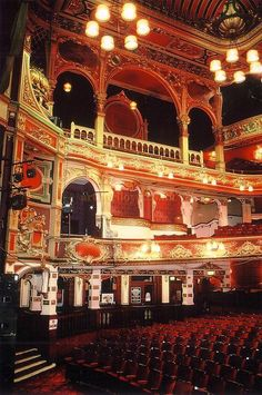 Hackney Empire Theatre, London. IT'S BEAUTIFUL!!