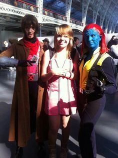 Jack as Gambler and Kelly as Mystique
