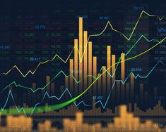 Stock market or forex trading graph in blue futuristic display graphic concept suitable for financial investment or Economic trends business idea and all artwork design. Abstract finance background cover or banner. Intraday Trading, Forex Trading, Armas Wallpaper, Stock Market Graph, Economic Trends, Financial Quotes, Where To Invest, Stock Market Investing, Day Trader