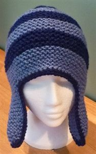 Mens Helmet/Ear Flap Hat Chunky