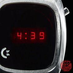 Led Watch, Wristwatches, Digital Alarm Clock, Digital Watch, Geek, Collection, Digital Clocks, Watch, Midcentury Clocks