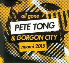 All Gone Pete Tong & Gorgon City Miami 2015 is out 22 March / Digital) on Defected Records Gone Series, Gorgon City, Pete Tong, Tech House Music, Music Heals, Lose My Mind, Facebook Photos, Various Artists, Losing Me