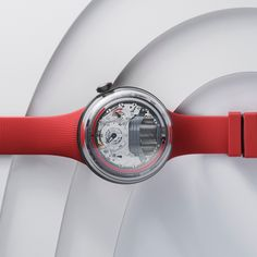 MOMENT BY MOMENT, ELEMENT BY ELEMENT, THE RED H5 BY HYT RAISES THE CURTAIN ON THE THEATER OF FLUID TIME. #timeisfluid #hytwatches Swiss Luxury Watches, Luxury Watch Brands, Theater, Bracelet Watch, In This Moment, Red, Accessories, Collection, Products