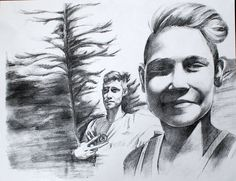 https://flic.kr/p/FQyC4A | family portrait, pencil drawing by Kirillnbb