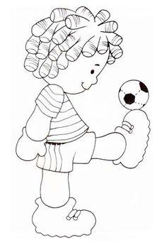 Artesanato | Blog trabalhos em artes manuais: Riscos de Bonecas para Pintar…