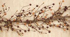 apple pie berry garland