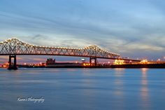 Baton Rouge , Louisiana..... Mississippi River Bridge... Oh the nightmares I've had about this damn bridge....