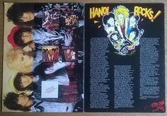 HANOI ROCKS 1984 TOUR PROGRAMME VERY RARE!!! | Music, Music Memorabilia, Rock | eBay!