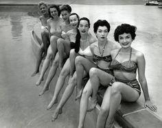 Vegas showgirls Dunes Hotel, 1955 - simple dreams...