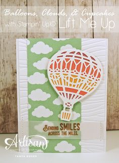 The Lift Me Up bundle by Stampin' Up!  is full of fun and whimsical images just waiting for your creativity to bring them to life! Tanya Boser